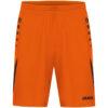 neon orange/black